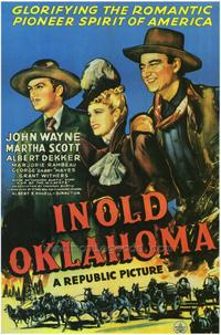 In Old Oklahoma - 43 x 62 Movie Poster - Bus Shelter Style A