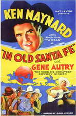 In Old Santa Fe - 11 x 17 Movie Poster - Style A