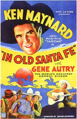 In Old Santa Fe - 27 x 40 Movie Poster - Style A