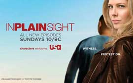 In Plain Sight (TV) - 11 x 17 TV Poster - Style C