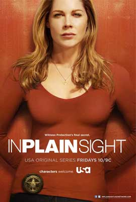 In Plain Sight (TV) - 27 x 40 TV Poster - Style A