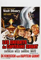 In Search of the Castaways - 11 x 17 Movie Poster - Belgian Style B