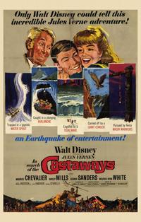 In Search of the Castaways - 11 x 17 Movie Poster - Style A