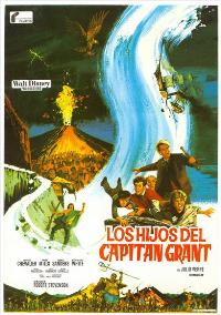 In Search of the Castaways - 11 x 17 Movie Poster - Spanish Style A