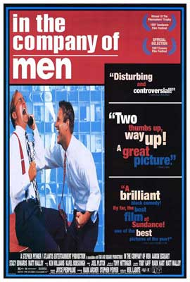 In the Company of Men - 27 x 40 Movie Poster - Style B