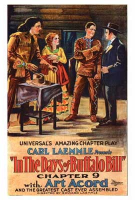 In the Days of Buffalo Bill - 27 x 40 Movie Poster - Style B