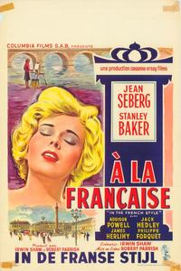 In the French Style - 27 x 40 Movie Poster - Belgian Style A