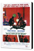In the Heat of the Night - 11 x 17 Movie Poster - Style A - Museum Wrapped Canvas