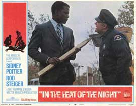 In the Heat of the Night - 11 x 14 Movie Poster - Style F