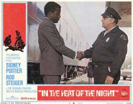 In the Heat of the Night - 11 x 14 Movie Poster - Style H