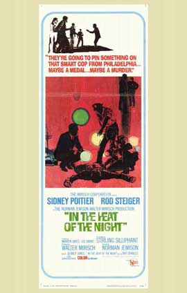 In the Heat of the Night - 11 x 17 Movie Poster - Style B