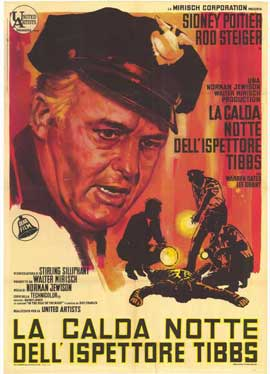 In the Heat of the Night - 27 x 40 Movie Poster - Italian Style A