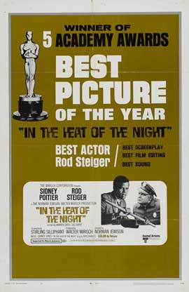 In the Heat of the Night - 27 x 40 Movie Poster - Style B