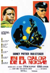 In the Heat of the Night - 11 x 17 Movie Poster - Spanish Style A