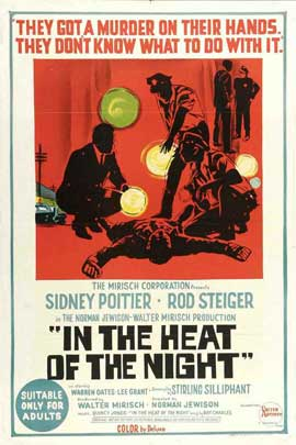 In the Heat of the Night - 11 x 17 Movie Poster - Australian Style A