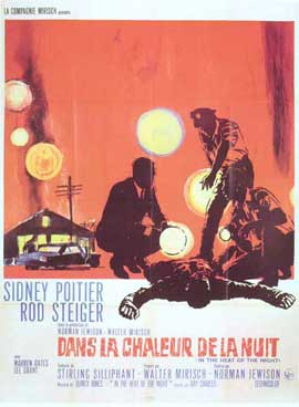 In the Heat of the Night - 27 x 40 Movie Poster - Italian Style B
