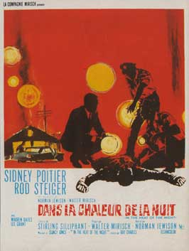 In the Heat of the Night - 11 x 17 Movie Poster - French Style A