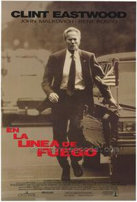 In the Line of Fire - 11 x 17 Movie Poster - Spanish Style A