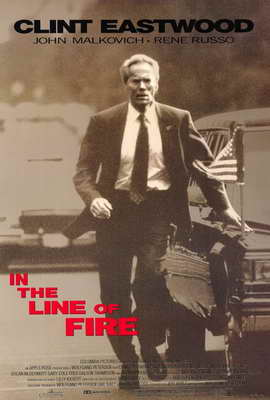 In the Line of Fire - 27 x 40 Movie Poster - Style A