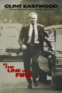 In the Line of Fire - 43 x 62 Movie Poster - Bus Shelter Style B