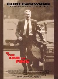 In the Line of Fire - 43 x 62 Movie Poster - Bus Shelter Style C