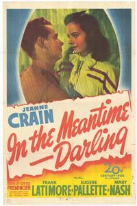 In the Meantime Darling - 11 x 17 Movie Poster - Style A