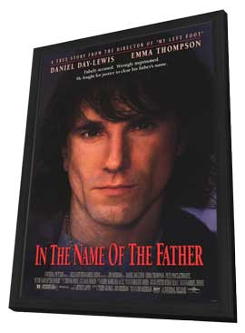 In the Name of the Father - 11 x 17 Movie Poster - Style A - in Deluxe Wood Frame