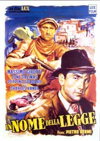 In the Name of the Law - 27 x 40 Movie Poster - Italian Style A
