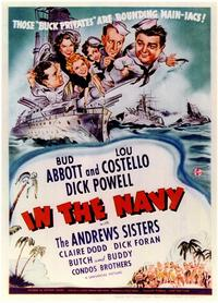 In the Navy - 11 x 17 Movie Poster - Style A