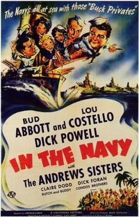 In the Navy - 11 x 17 Movie Poster - Style B