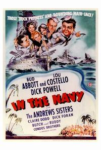 In the Navy - 27 x 40 Movie Poster - Style A