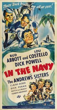 In the Navy - 20 x 40 Movie Poster - Style A