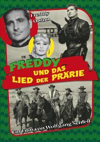 In the Wild West - 11 x 17 Movie Poster - German Style A