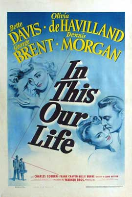 In This Our Life - 11 x 17 Movie Poster - Style A