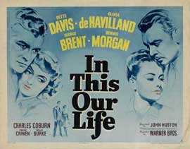 In This Our Life - 22 x 28 Movie Poster - Half Sheet Style A