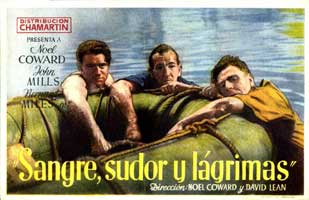 In Which We Serve - 11 x 17 Movie Poster - Spanish Style A