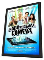 InAPPropiate Comedy - 11 x 17 Movie Poster - Style A - in Deluxe Wood Frame