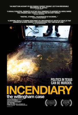 Incendiary: The Willingham Case - 27 x 40 Movie Poster - Style A