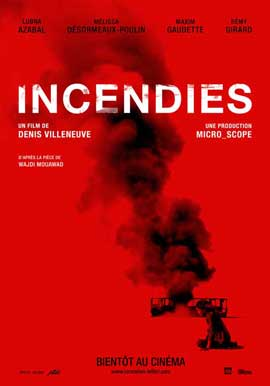 Incendies - 11 x 17 Movie Poster - Style A