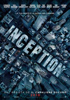 Inception - 11 x 17 Movie Poster - Italian Style A