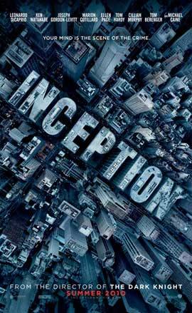 Inception - 11 x 17 Movie Poster - Style D