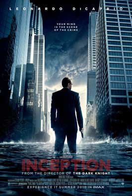 Inception - 11 x 17 Movie Poster - Style A - Double Sided