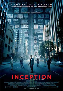 Inception - 11 x 17 Movie Poster - Italian Style B