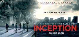 Inception - 8 x 17 Movie Poster - Style A - Double Sided