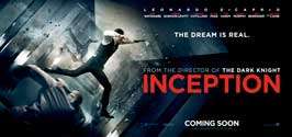 Inception - 8 x 17 Movie Poster - Style B - Double Sided