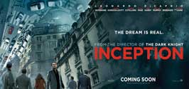 Inception - 8 x 17 Movie Poster - Style C - Double Sided