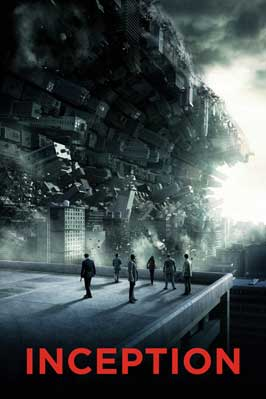 Inception - 43 x 62 Movie Poster - Bus Shelter Style I