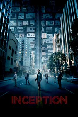 Inception - 43 x 62 Movie Poster - Bus Shelter Style J