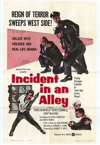 Incident in an Alley - 27 x 40 Movie Poster - Style A