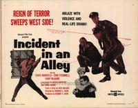 Incident in an Alley - 22 x 28 Movie Poster - Half Sheet Style A